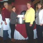 <b>Oswego Lions Club Supports United Way's  Stone Soup Luncheon</b>