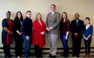 Representatives recently met with SUNY Oswego employees to express their appreciation for the support the agency received through SUNY's SEFA Campaign