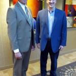 <b>Executive Director Patrick Dewine Meets with Regional President Jim Reed </b>