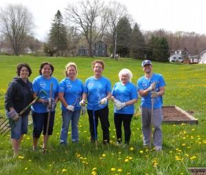 2016 Community Garden Volunteers
