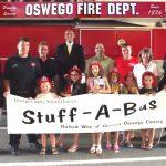 <b>Oswego City Firefighters Supports United Way Stuff-A-Bus</b>
