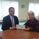 <b>Shineman Foundation Presents United Way of Greater Oswego County a $1,000 Discretionary Grant </b>