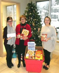 Oswego Health Food Drive Benefits United Way
