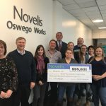 <b>Novelis contributes nearly $100,000 to Annual United Way Campaign</b>